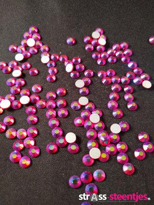 Light Siam AB SS 6 Excellent Austrian kwaliteit non-hotfix plakstenen