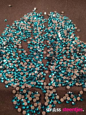 Hotfix steentjes Excellent kwaliteit SS 10 Kleur Blue Zircon