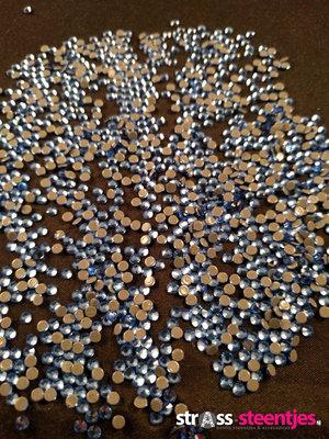Hotfix steentjes Excellent kwaliteit SS 10 Kleur Light Sapphire