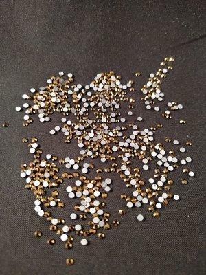 Gold SS 5 Excellent Austrian kwaliteit non-hotfix plakstenen