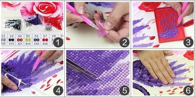 Diamond Painting Handleiding