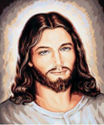 Diamond Painting pakket - Jezus Christus 50x60 cm (full)