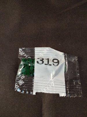 Diamond Painting - Losse vierkante steentjes kleurcode 319