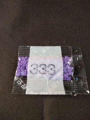 Diamond Painting - Losse steentjes kleurcode 333