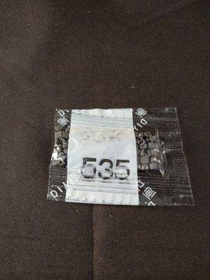 Diamond Painting - Losse vierkante steentjes kleurcode 535