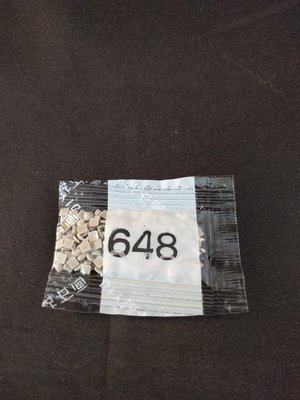 Diamond Painting - Losse vierkante steentjes kleurcode 648