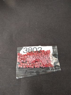 Diamond Painting - Losse vierkante steentjes kleurcode 3802