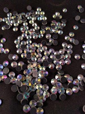 2250 Hotfix steentjes DMC kwaliteit SS 20 Kleur Crystal AB ACTIE OP=OP