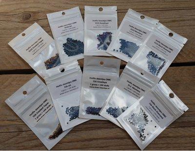Kleurenpakket Night - Small (SS6 en SS10) - Premium DMC kwaliteit Hotfix