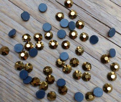 Gold SS 30 Premium DMC kwaliteit Hotfix steentjes