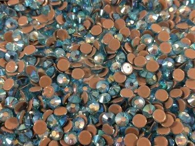 Aquamarine AB SS 6 Superior Glamour kwaliteit Hotfix steentjes