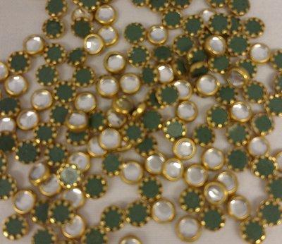 Hotfix Trim SS 16 Kleur Goud-Crystal