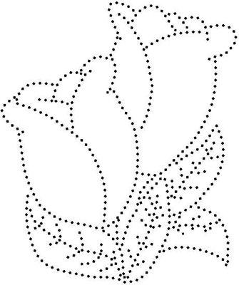 Hotfix Patroon Tulpen