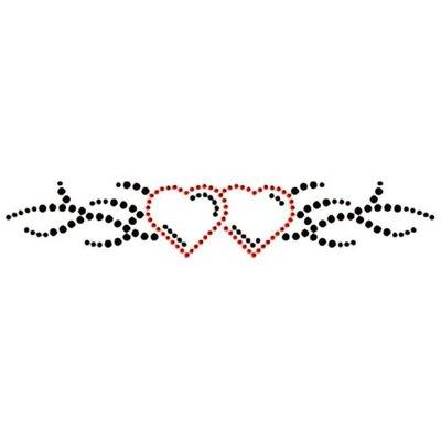 Hotfix Patroon Tribal met twee hartjes