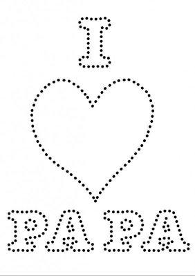 Hotfix Patroon - I Love Papa