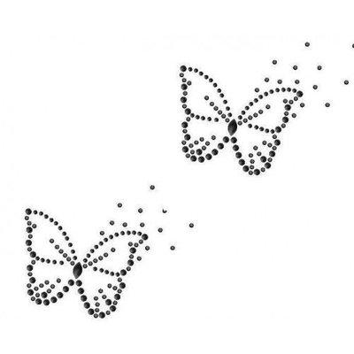 Hotfix Patroon - Twee Vlinders
