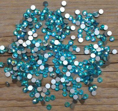Aquamarine AB SS 30 Excellent Austrian kwaliteit non-hotfix plakstenen