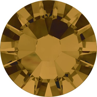 Swarovski hotfix steentjes kleur Topaz (203) SS20 UITVERKOOP