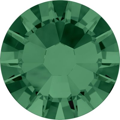 Swarovski hotfix steentjes kleur Emerald (205) SS20 UITVERKOOP
