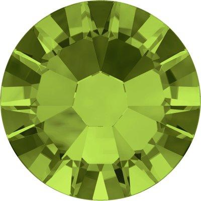 Swarovski hotfix steentjes kleur Olivine (228) SS34 UITVERKOOP