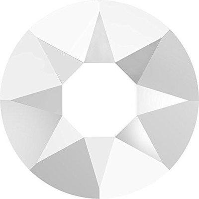 Swarovski hotfix steentjes kleur Chalkwhite (902) SS30