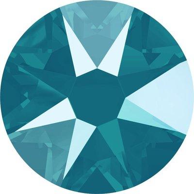 Swarovski hotfix steentjes kleur Crystal AzureBlue (001L112S) SS34