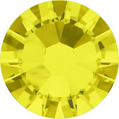 Swarovski non-hotfix steentjes kleur Citrine (249) SS30
