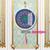 Diamond Painting Wandornament - Mandala - paars oranje groen