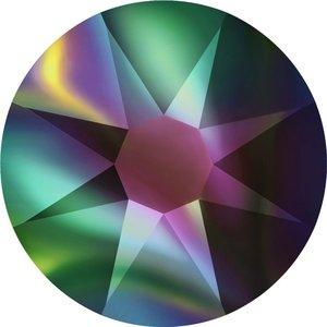 Swarovski non-hotfix steentjes kleur Crystal Rainbow Dark (001RABDK) SS30