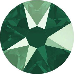 Swarovski non-hotfix steentjes kleur Crystal Royal Green (001L109S) SS30