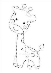 Hotfix Patroon - Girafje