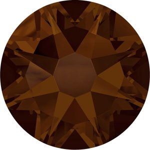 Swarovski hotfix steentjes kleur Mocca (286) SS16