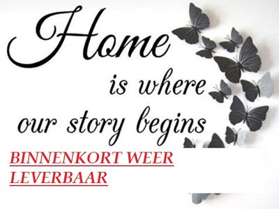 Diamond Painting pakket - Home is where our story begins 60x45 cm (full)