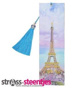 Diamond Painting Boekenlegger - Eiffeltoren 5x20 cm