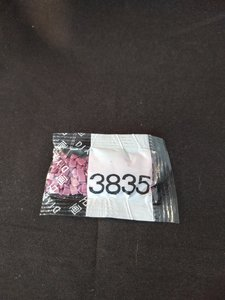 Diamond Painting - Losse vierkante steentjes kleurcode 3835