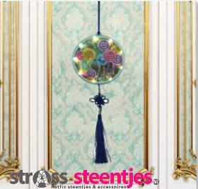Diamond Painting Hanger met LED-verlichting - Paardenbloem pluizenbollen