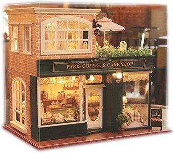 Mini Dollhouse - Shop - Paris Coffee and Cake Shop