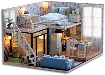 Mini Dollhouse - Appartement - Blue Times