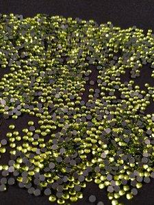 hotfix steentjes budget kwaliteit ss 10 kleur olivine