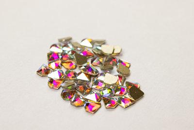 Diamantje 5 mm Crystal AB Rhinestones figuren Superior Glamour kwaliteit