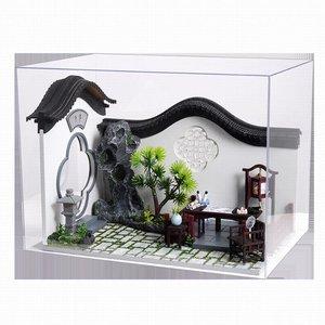 Mini Dollhouse - Cute Room - Chinese Courtyard / binnenplaats