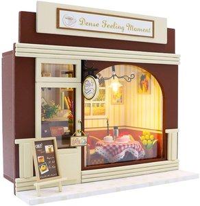 Mini Dollhouse - Coffee Shop - Dense Feeling Moment