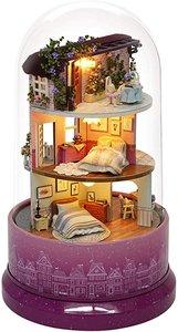 Mini Dollhouse - Draaiende muziekdoos - Meet at the Corner