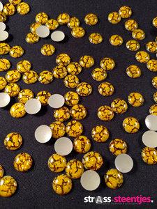 hotfix epoxy 8 mm kleur tijger geel