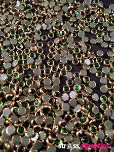 hotfix trim ss 16 kleur goud groen