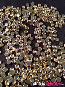 hotfix trim ss 16 kleur goud licht blauw