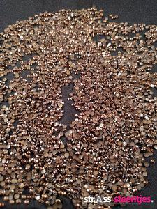 hotfix rhinestuds ss 6 kleur bruin