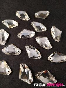naaistenen ax kleur crystal