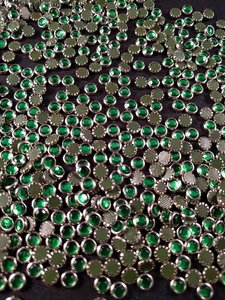 hotfix trim ss 16 zilver groen