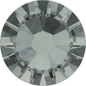 Swarovski hotfix steentjes kleur Black Diamond (215) SS 16